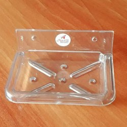 Square Acrylic Soap Dish