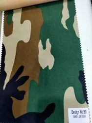 100% Polyester Pakka Rang Fabric For Military Uniform