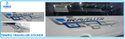 Force Motor Tempo Traveller Body Sticker