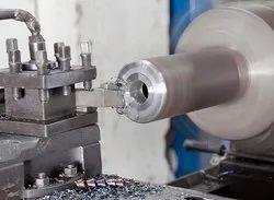 simple lathe machine job / work