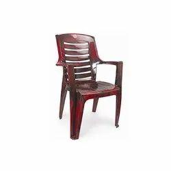 With Arm Rest 1.2 Kg Armrest Plastic Chair