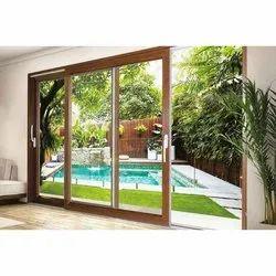 Window Expert Brown UPVC Lift And Slide Door, For Home, Exterior