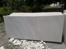 Polished Finish White marble, Application Area: Flooring, Thickness: 10-15 mm