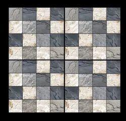 Ceramic Mosaic 4001 Digital Vitrified Parking Tiles, Size: 300 x 300mm