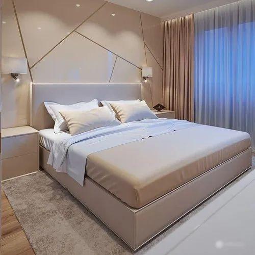 Luxury Modular Bedroom Interior Designing