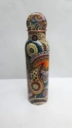 Copper Water Bottle Multi Colour