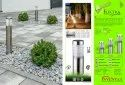 Stainless Steel Cool White Inventaa Electra 12w Led Bollard Light, For Garden And Path Lights, Ip Rating: Ip 65