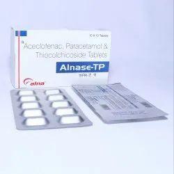 Aceclofenac 100 Mg Paracetamol 325 Mg Thiocolchicoside 4 Mg