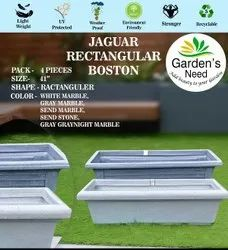 Jaguar Rectangular Boston-41 Pot