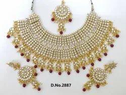 Heavy Bridal Necklace Set