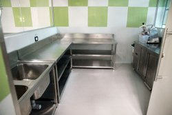 Vegetable Preparation Area