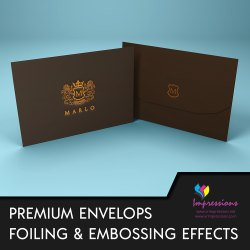 Envelops With Foiling