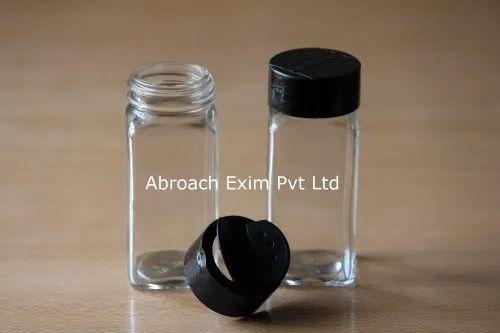 Glass Spice Jar With Cap 100 Ml