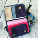 Leather Cash Bag, Size/dimension: 7 X 9 X 3 Inches
