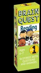 2 Brain Quest Grade 1 Reading, Language: English