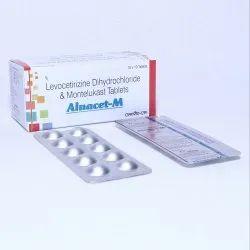 Levocetrizine 5mg   Montelukast Sodium 10mg