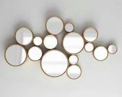 金属墙艺术镜
