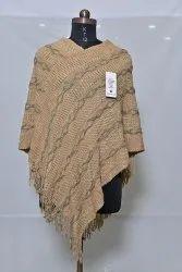 PU72 Woolen Poncho