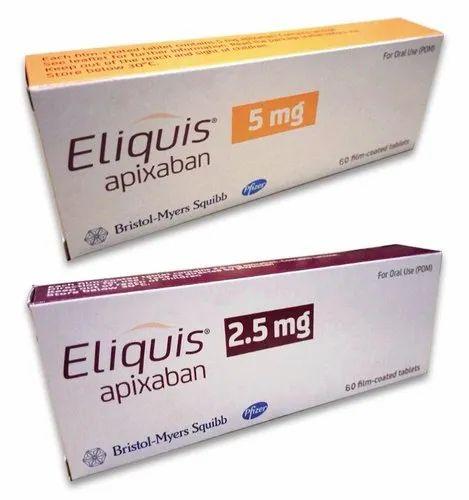 Eliquis 5mg Tablet Apixaban (5mg)