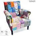 Polyester Modern Vintage Fabric Indian Gudri Sofa, Seating Capacity: Single