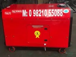 15 KW BAJAJ-M SOUNDPROOF PETROL PORTABLE GENERATOR SET.