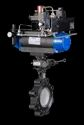 Series 50/52 Resilient Seated Butterfly Valve With Pneumatic Actuator