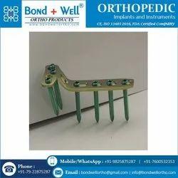 Orthopedic T Buttress Locking Plate