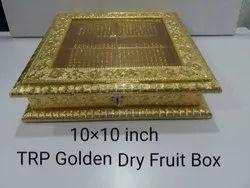 10x10 Inch TRP Golden Dry Fruit Box