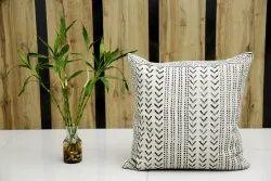 Mud Cloth Rug Pillow Cover Block Print Handloom Cushion Cover Decorative Sofa Pillow Case