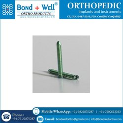 Orthopedic Locking Head Screw