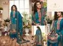 Tunic House Tanisha Designer Digital Printed Velvet With Diamond Work Dress Material