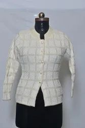 601 Woolen Ladies Cardigan