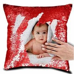 Personalised Photo Magic Cushion