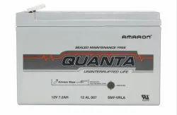 Quanta (Amaron) Make SMF Batteries 12V-7 AH