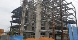 Steel Frame Structures Commercial Projects Complex Construction Services