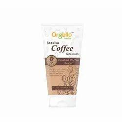 Orgello Brown Arabica Coffee Face Wash, Cream, Packaging Size: 100 Ml