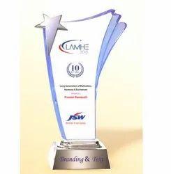 AC 8457 Glittering Star Acrylic Trophy