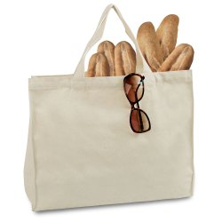Organic Cotton Food Shopping Bag