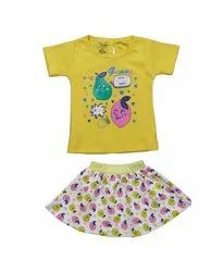 Baby Girls Top With Pants Dgn 532