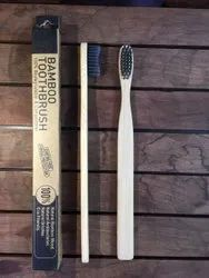 Bamboo Toothbrush-Flat Handle. 100% Fungus Free With Report