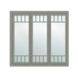 Cabins Cab-107 Tata Galvano Steel Windows