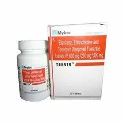 Emtricitabine   Tenofovir   Efavirenz Teevir