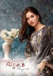 Keval Fab Alija C Digital Printed Heavy Cotton Pakistani Suits Catalog