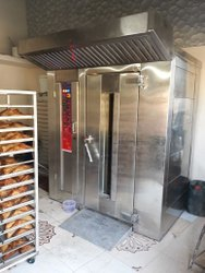Diesel Small / Mini Rotary Rack Oven, 22 Tray