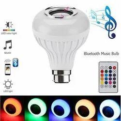 New Ceramic LED Music Bulb, For Home