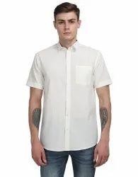 Mens Cotton Plain Shirt