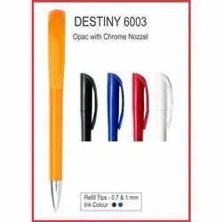 Plastic Emboss Promotional Roller Pen
