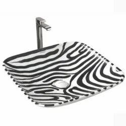 Table Top Wash Basin Giraffe Glossy