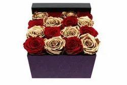 Custom Long Lasting Standard Roses, Packaging Size: 6 & 12