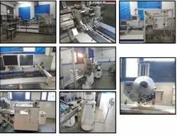 FSM 500 Card Packing Line With Sequence Control
